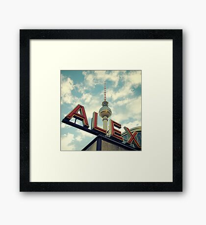 Alex Framed Print