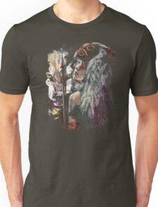 Mononoke San and the Spirit of the Wolf Unisex T-Shirt