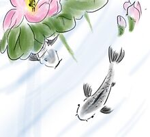 Digital Chinese brush style painting. by joelwilluk