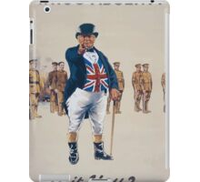 Whos absentIs it you 683 iPad Case/Skin