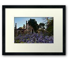 Eurama Ruins - Faulconbridge NSW Framed Print