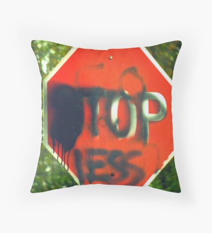 ADOLESCENT DREAMING Throw Pillow