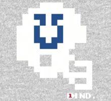 Tecmo Bowl - Indianapolis - 8-bit - Mini Helmet shirt Kids Tee