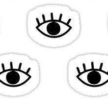 Magic Eyes Sticker
