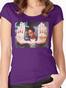 Abed Women's Fitted Scoop T-Shirt