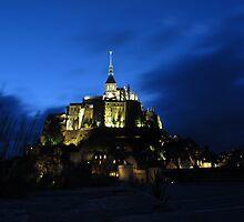 Mont St Michel - longer exposure by vanessaquake