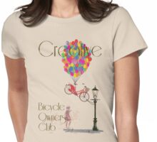 Creative Bicycle Owners Club Womens Fitted T-Shirt