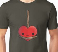 Hung up on love Unisex T-Shirt
