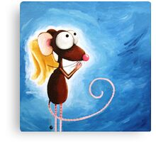 Angel Mouse Canvas Print