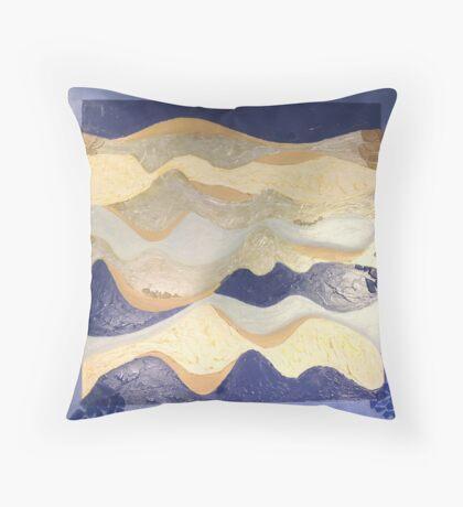 Cruise Blue Throw Pillow