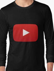 Youtube Logo Long Sleeve T-Shirt