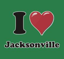 I Heart / Love Jacksonville by HighDesign