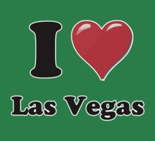 I Heart / Love Las Vegas by HighDesign