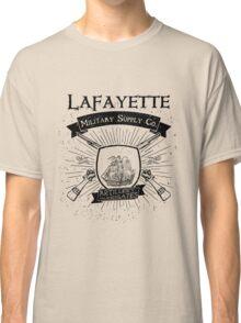 Guns and Ships - Black Classic T-Shirt