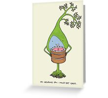 Neurons love cake Greeting Card