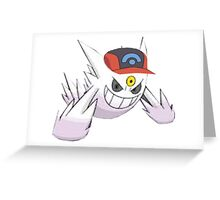 Shiny Mega Gengar Greeting Card