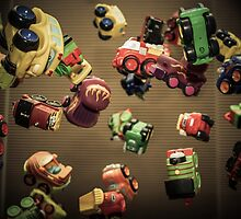 Toy Toss by Randy Turnbow