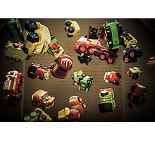 Toy Toss Photographic Print