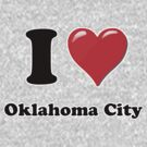 I Heart / Love Oklahoma City by HighDesign
