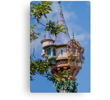 She's So Glad She Left Her Tower! Metal Print