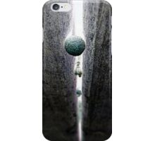 Falling Through The Cracks iPhone Case/Skin