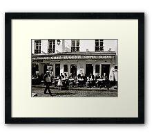 Chez Eugene Framed Print