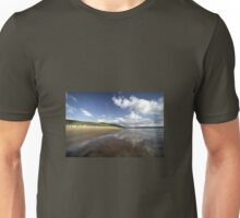 Woolacombe beach reflections Unisex T-Shirt