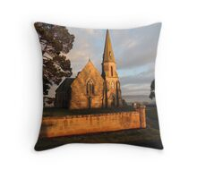 Uniting Church, Ross in Tasmania Throw Pillow