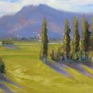 """Afternoon at Hanmer Springs, NZ"" by Tash  Luedi Art"
