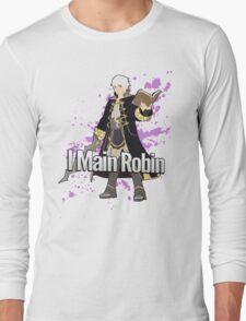 I Main Robin - Super Smash Bros Long Sleeve T-Shirt