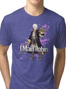 I Main Robin - Super Smash Bros Tri-blend T-Shirt