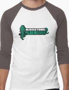 Miskatonic University Elder Gods (Full Logo) Men's Baseball ¾ T-Shirt