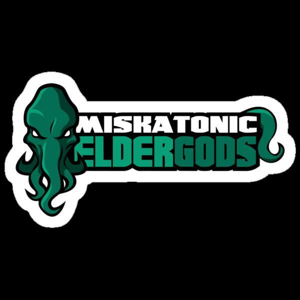 Miskatonic University Elder Gods (Full Logo) by Daniel Rubinstein