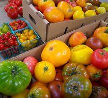 Heritage Tomato Rainbow by Betty Mackey