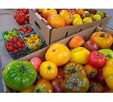 Heritage Tomato Rainbow Photographic Print