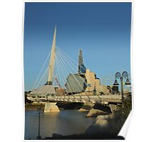 Two Winnipeg Landmarks Poster