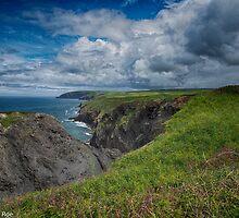 Pembrokeshire Coastal Path  Wales / United Kingdom by Steve  Roe