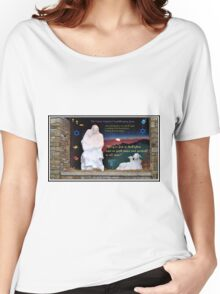 Holy Family Christmas Card Women's Relaxed Fit T-Shirt