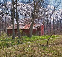 Sway Back Barns and Broken Homes by JasPeRPhoto