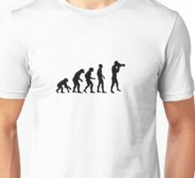 Photographer evolution Unisex T-Shirt