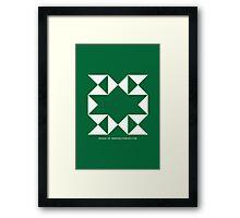 Design 190 Framed Print