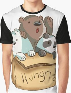We Bare Bears - Hungry! Graphic T-Shirt