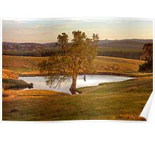 Mount Crawford in Autumn - Barossa Valley, South Australia Poster