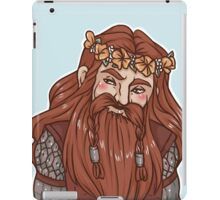 Gimli flower crown iPad Case/Skin