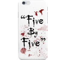 Five By Five iPhone Case/Skin