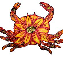 Crab Flower by nsvtwork