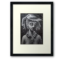 jewels (stage 3) Framed Print