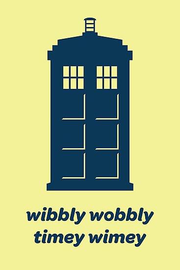 DW - Wibbly Wobbly Timey Wimey by MikeZuniga