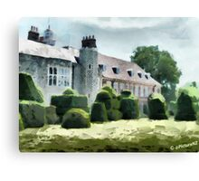 The West Wing of Historic Hall Place  Canvas Print