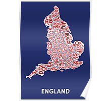 England Poster - Union Jack Poster